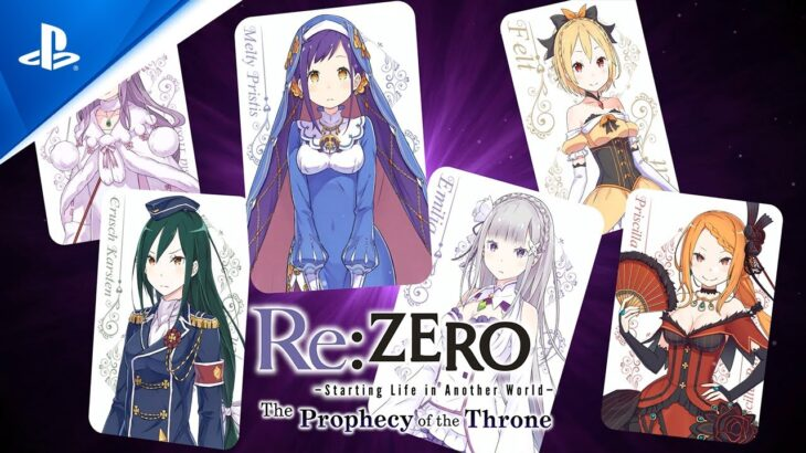Re:ZERO -Starting Life in Another World- The Prophecy of the Throne | Game Overview Trailer | PS4
