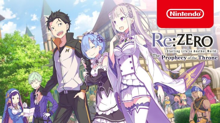 Re:ZERO – Starting Life in Another World – The Prophecy of the Throne – Overview – Nintendo Switch