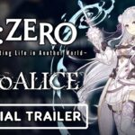 SINoALICE x Re:ZERO – Starting Life in Another World – Official Collaboration Trailer